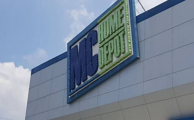 MC home depot at Lancaster New City Cavite