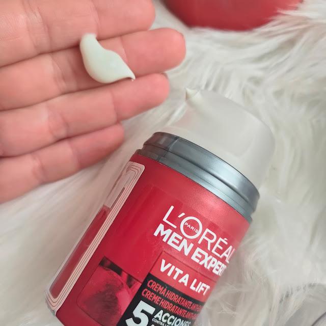 Hidratante L'oral Men Expert Vitalift - Opinión 05