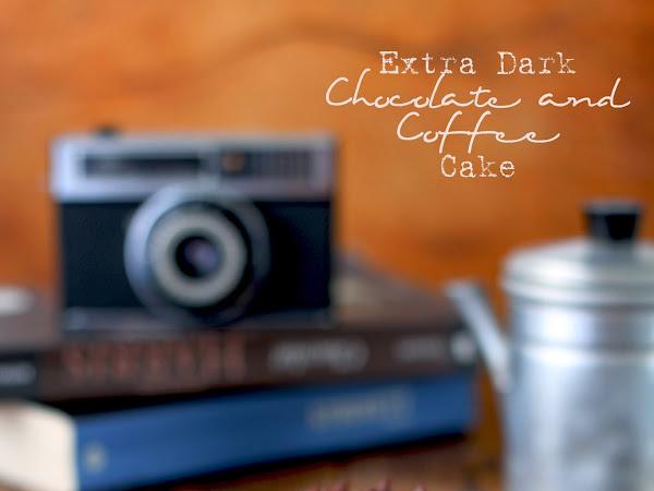 Extra Dark Chocolate and Coffee Cake