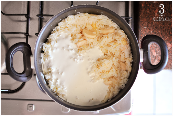 arroz piamontese passo a passo