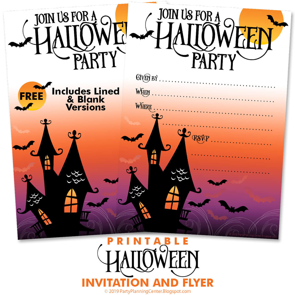 costumes and cocktails invitations