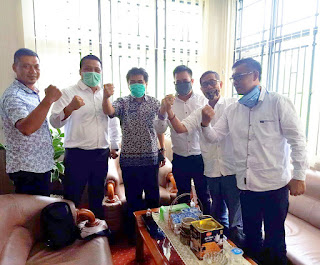 KPK Jabar Bangun Sinergitas Dengan Inspektorat Kab. Sukabumi