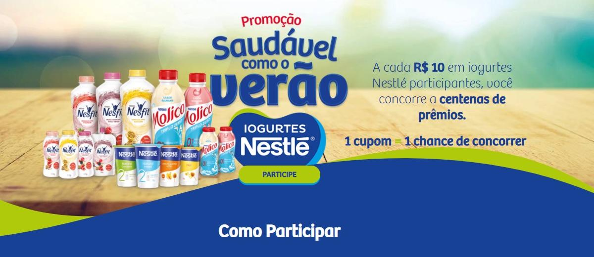Participar Promoção Iogurtes Nestlé 2021 Saudável Como o Verão - Cadastrar, Prêmios e Ganhadores