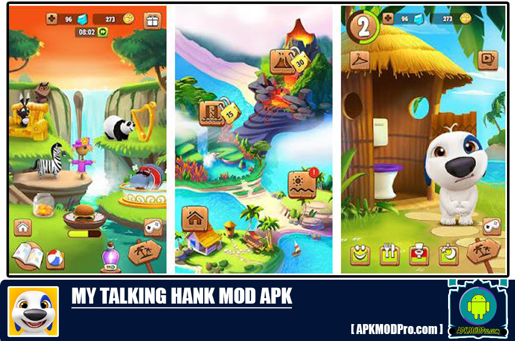 My Talking Hank Mod Apk 1.8.3.161 (Unlimited Money/Coins/Diamonds)