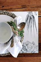 Tips And Ideas Rustic Table Settings - Simplify