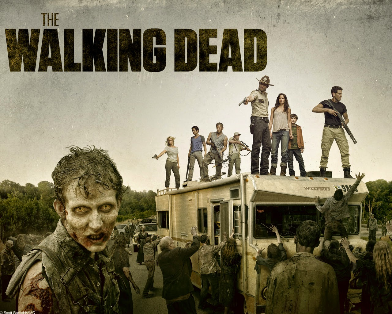 Promonauta The walking Dead