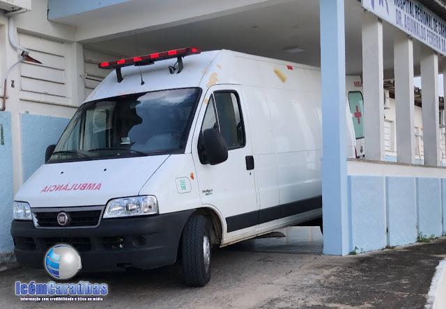 Acidente entre moto e caminhão deixa mãe e filha feridas na RN-117 em Caraúbas