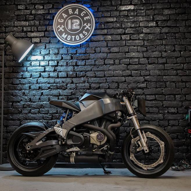 Custom Buell XB12S by Garage 12