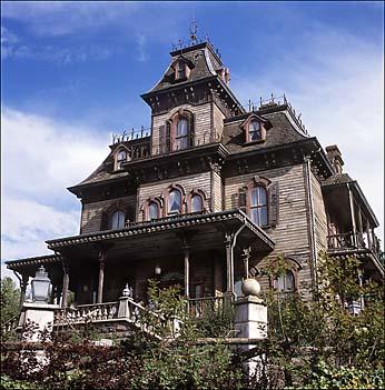Victorian Architecture The Phantom Manor Disneyland Paris