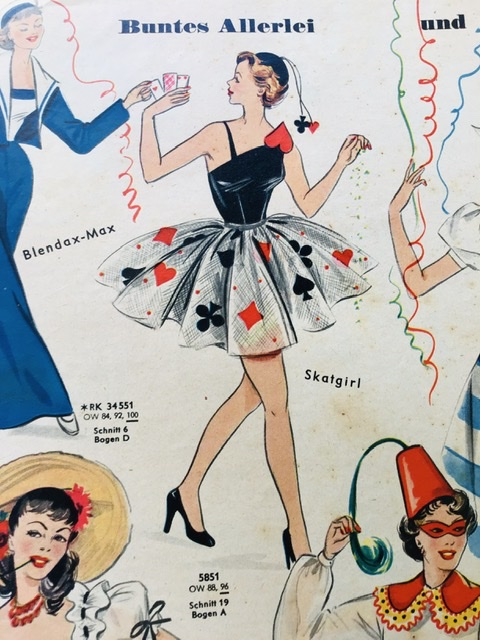 Costume 1950s