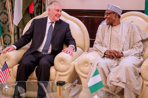 Buhari-Tillerson-hold-closed-door-meeting-in-Aso-Rock-1