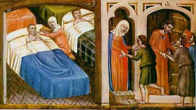 Atenção aos enfermos na Idade Média
