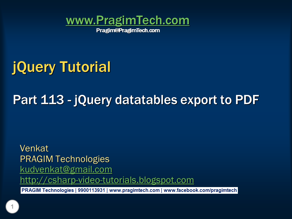 Jquery tutorial 4 how to debug jquery code in mozilla firefox.