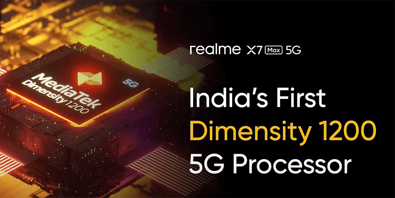 The first smartphone with MediaTek Dimensity 1200 in India