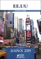 Estados Unidos catálogo de viajes 2019