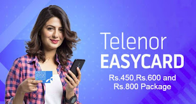 Telenor super card Rs.450,Rs.600 and Rs.800 Package Price 2021