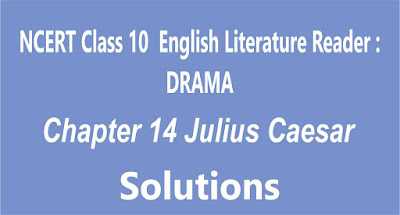 NCERT Class 10 English Literature Reader Chapter 14 Julius Caesar