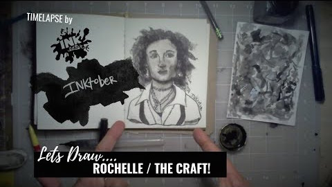 We Drew Rochelle from The Craft - Inktober 2018