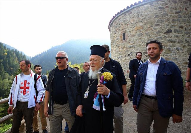 Την Παναγία Σουμελά στον Πόντο επισκέπτεται ο Οικ. Πατριάρχης