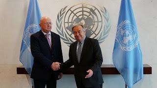 Ο πρεσβευτής της Ρωσίας στον ΟΗΕ