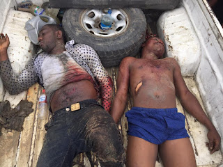 Police Kill 2 Robbers