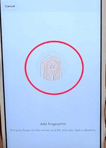 mengatur sidik jari atau fingerprint Redmi Note 4