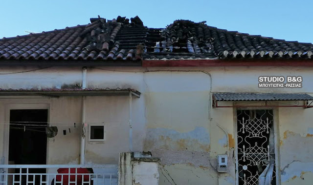 Πυρκαγιά κατέστρεψε σπίτι στη Νέα Κίο Αργολίδας - Τραυματίας ένας ηλικιωμένος