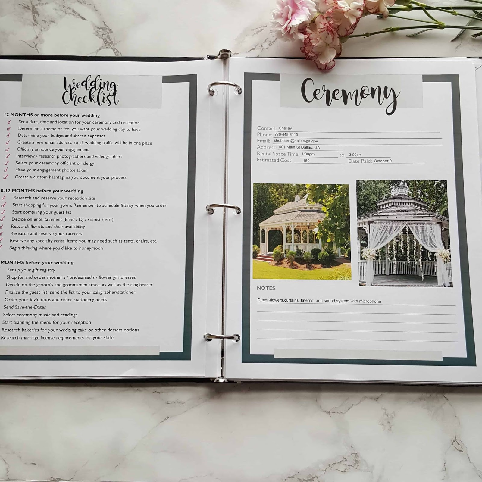 How To Make A Wedding Planning Binder That Will You Stay