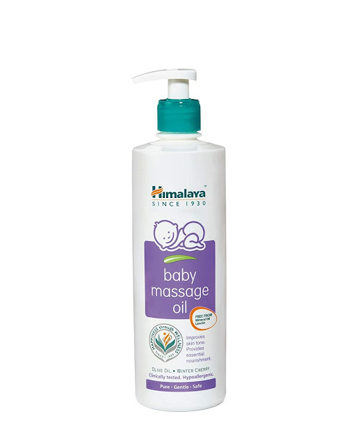 Top 10 Baby Massage Oil Brands Available in India