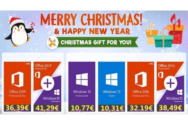 Χριστουγεννιάτιες προσφορές σε Microsoft Office και Windows 10