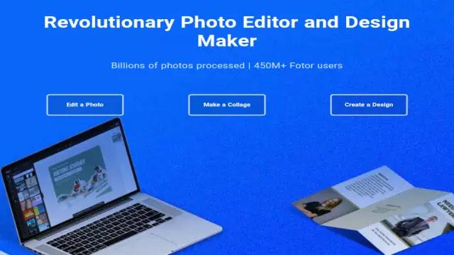 موقع Fotor لصنع الملصقات والشعارات