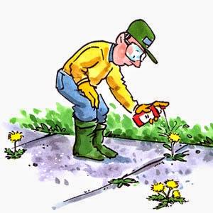 preparar el terreno con herbicida al instalar césped artificial