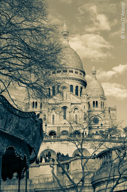 Sacre Coeur (Basilica del Sacro cuore)-Parigi