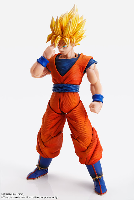 Imagination Works Son Goku 1/9 de Dragon Ball Z - Tamashii Nations