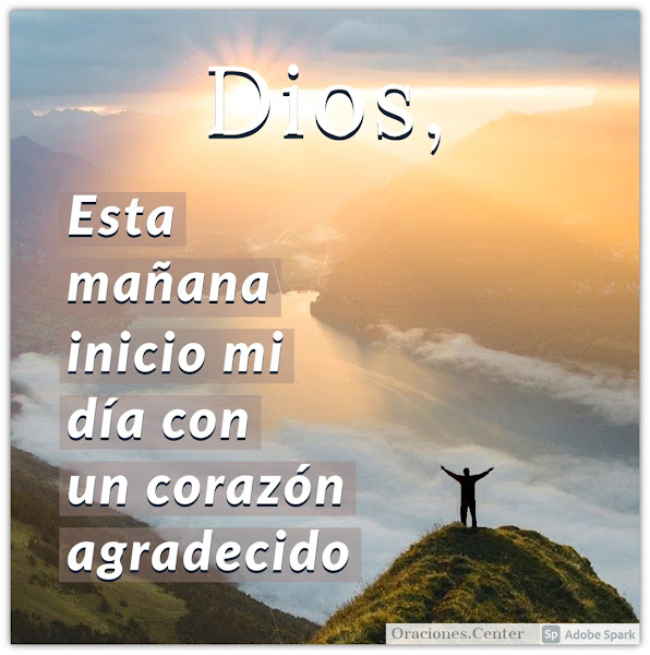 Oración de la Mañana para Agradecer a Dios
