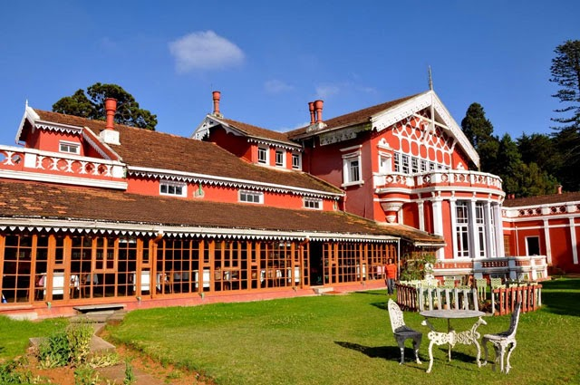 Fernhills Royale Palace - one of the best heritage hotels in Ooty