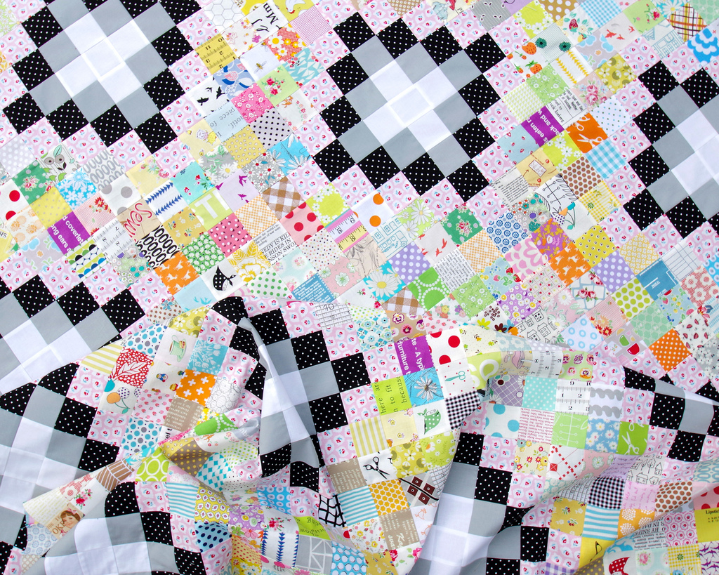 Irish Chain Quilt - Work in Progress and Tutorial | Red Pepper Quilts
