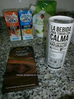Disfrutabox: Don Simon, Truvia, Lindt, Calma la sed