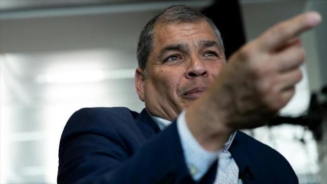 Correa ratifica su disposición a ser candidato para elecciones