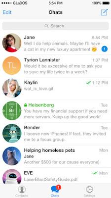 تحميل برنامج تيليجرام Telegram مجانا