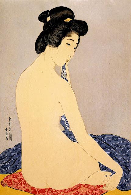 Hashiguchi Goyō: Dopo il bagno
