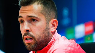 Jordi Alba: Messi is focused and committed to Barcelona, you can see that in every match