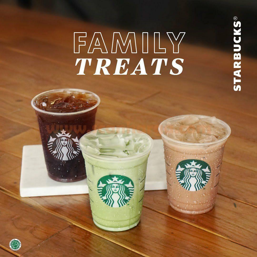 STARBUKS Family Treats - Beli 2 minuman ukuran Grande GRATIS lagi 1*