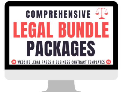Protect your business by using this legal bundle!