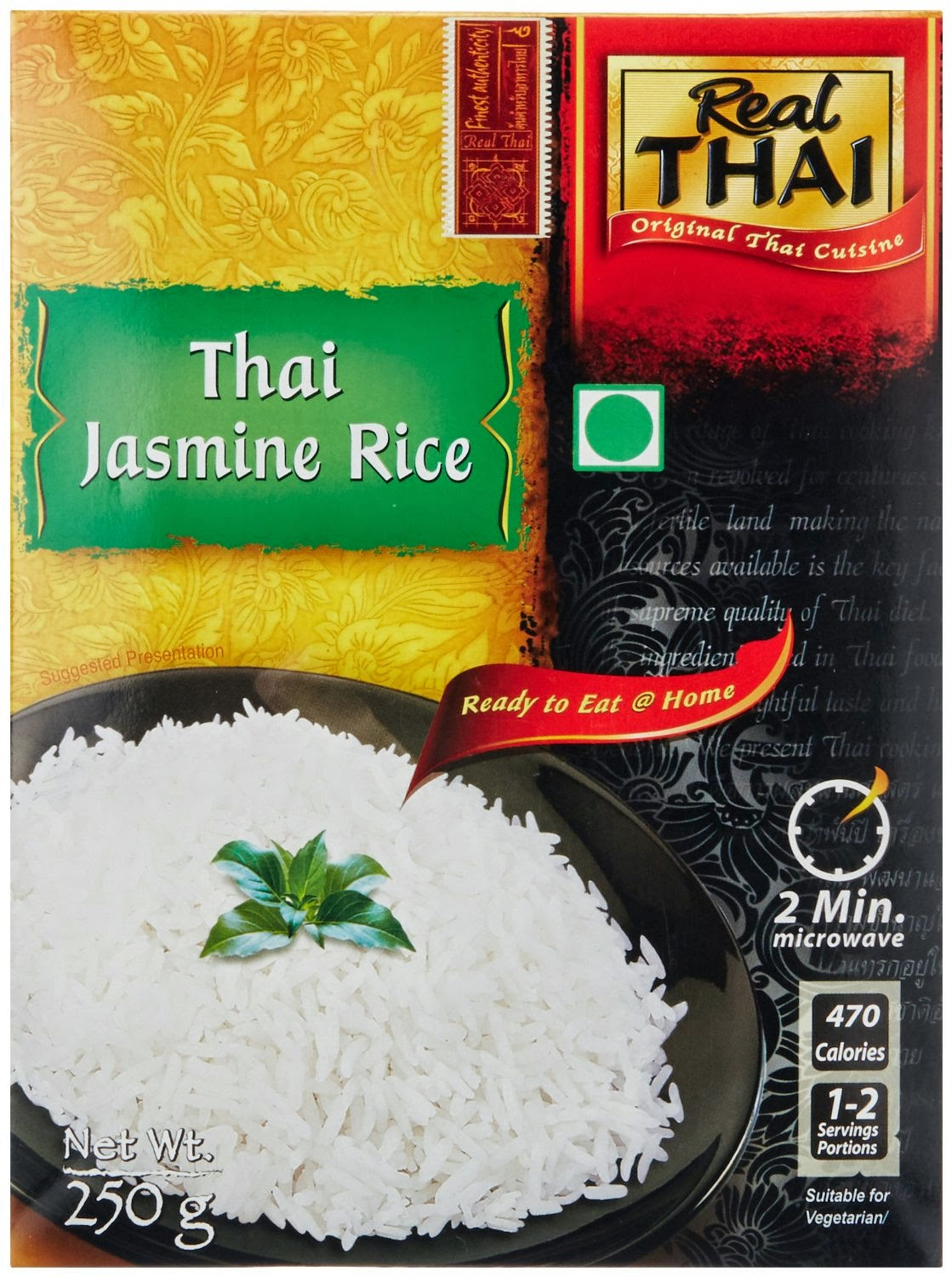 Excellent white grain rice with a jasmine flavour     Selected from the finest varieties in Thailand     Can be stored for a long time at room temperature     Jasmine Rice makes an aromatic accompaniment to all types of Thai curry