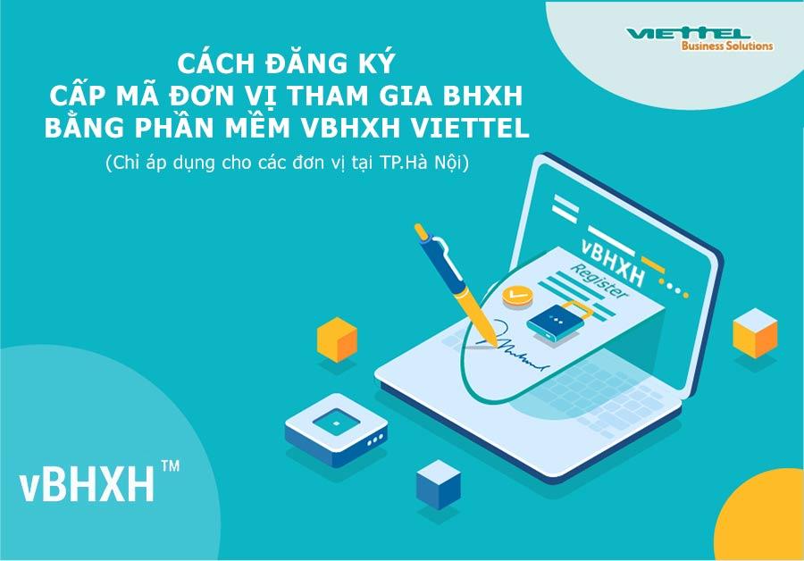 Ảnh minh họa: Cấp mã đơn vị BHXH lần đầu trên phần mềm vBHXH