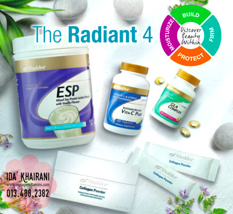 Set Kulit Cantik Shaklee - The Radiant 4