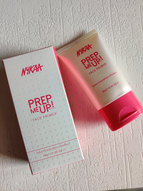 Nykaa Prep me Face Primer Price , Swatches and Review