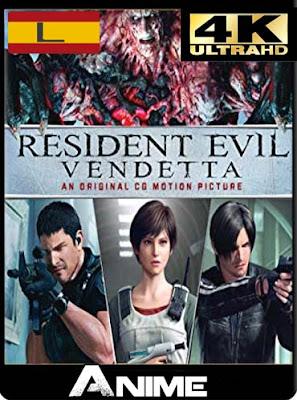 Resident Evil: Vendetta (2017) 4K UHDLatino [GoogleDrive-Mega]