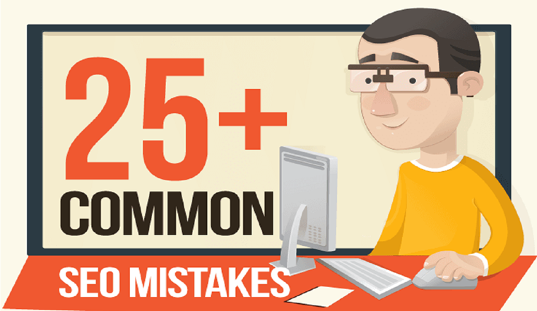 25+ Common SEO Mistakes [Infographic] That Are Killing Your Website – 2020 #infographic